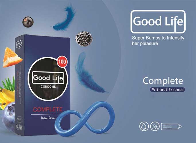 کاندوم گودلایف مدل کامل Complete