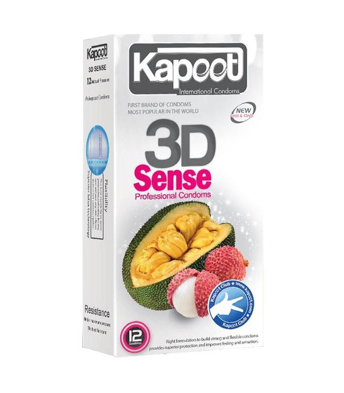 کاندوم کاپوت جلقوی گرم ۳بعدی