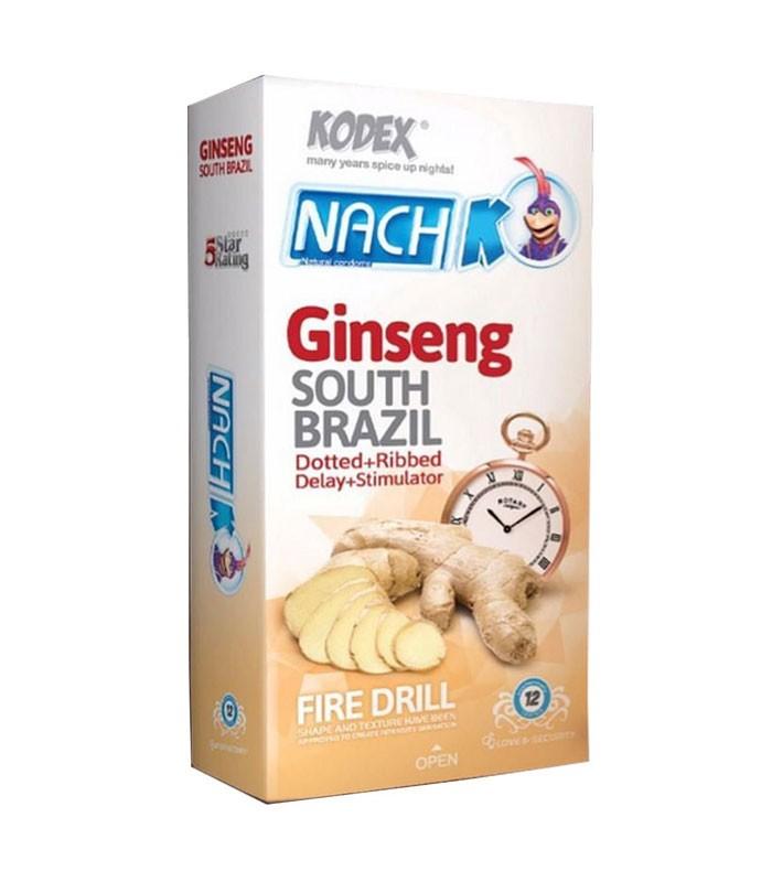 کاندوم ناچ کدکس تاخیری مدل Ginseng