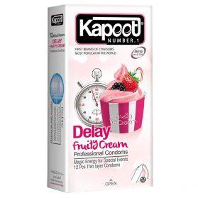 کاندوم کاپوت تاخیری و میوه ای Delay Fruity Cream