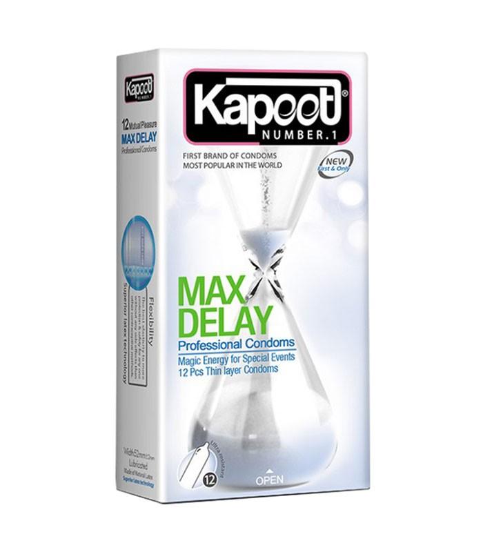 کاندوم کاپوت تاخیری و نازک مدل تاخیر حداکثر