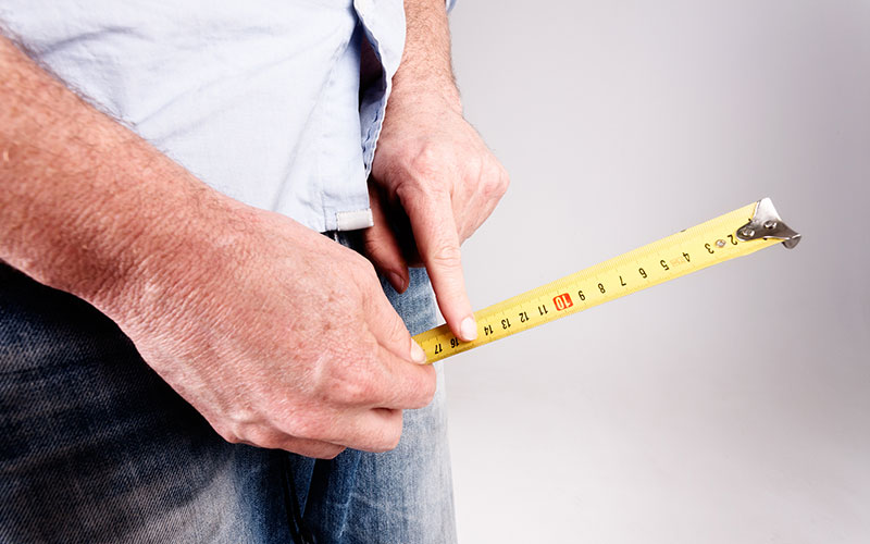 اندازه مناسب آلت تناسلی مردان